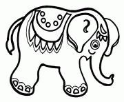 Coloriage ELEPHANT à imprimer Gratuit sur Coloriageinfo
