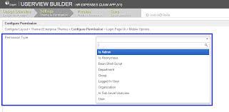 user layout en español permission control knowledge base for v5 joget community