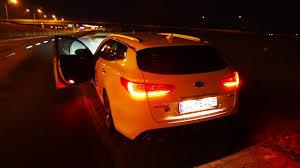 ferrari headlights at night 2017 kia optima sw gt line night driving led lights jazda testowa