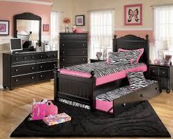 Pink And Black Bedroom Furniture Deriving Comfort And Relaxation With Black Bedroom Furniture Set