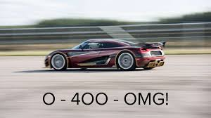 koenigsegg agera rs1 koenigsegg prepares on smashing bugatti u0027s 0 400 0 km h record