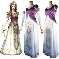 legend of zelda princess zelda cosplay costume halloween costume