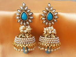 craftsvilla earrings polki and pearl jewellery polyvore