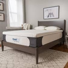 memory foam bed pillows postureloft 14 inch full size gel memory foam mattress with pillow