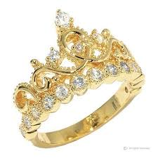 crown rings jewelry images Guliette verona sterling silver princess crown ring yellow gold jpeg
