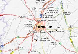 map of poitiers map of poitiers michelin poitiers map viamichelin