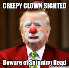 Creepy Clown Meme - clown sighted