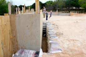 new home foundation building a new home from foundation to frame made everyday