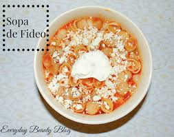 blogue de cuisine sopa de fideo recipe everyday
