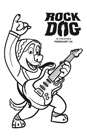 Free Rock Dog Coloring Pages Mommy Mafia Dogs Coloring Pages