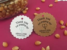 Thank You Favors by Popcorn Favor Tags Ready To Pop Thank You Favors Thank You