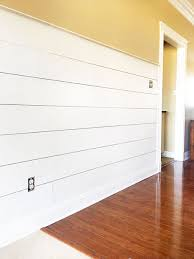 Installing Shiplap Install Diy Shiplap The Easy Way Life On Southpointe Drive