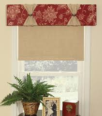 How To Make A No Sew Window Valance June Tailor Quick U0026 Easy Cornice U0027 U0027no Sew U0027 U0027 Window Treatment Kit