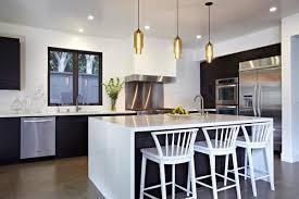 modern pendant light white kitchen image kitchens with