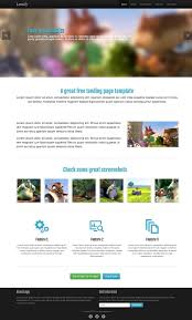html business templates free download with css 27 best responsive html landing page templates free premium