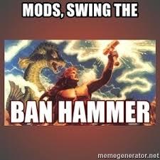 Ban Hammer Meme - ban hammer meme generator