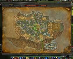 Wow Kalimdor Map Routes Map U0026 Minimap World Of Warcraft Addons Curse