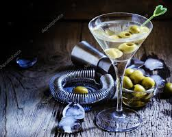 martini vermouth dry martini vermouth with green olives u2014 stock photo 5ph 122105872