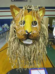 paper mache animal masks lesson plan sculpture activities and