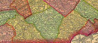 County Map Pennsylvania by Pennsylvania Map Page For Woodward Web Site