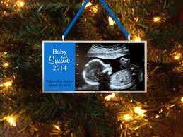 coming soon baby ultrasounds sonogram personalized ornament
