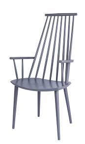 Esszimmerstuhl Grau Holz J110 Chair Stuhl Hay Von Poul M Volther
