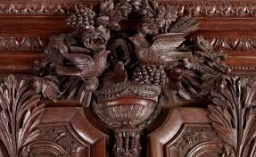 Meuble Normand Ancien Armoire De Mariage Normande En Chêne Xixe Siècle N 46739
