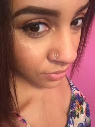 pink nose rings images Bogo free faux nose ring heart nose ring fake nose ring jpg