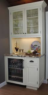 Kitchen Cabinets Bars Captivating Kitchen Wine Bars With Rectangle Shape White Wooden