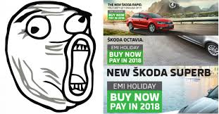 what is the skoda emi holiday scheme zigwheels forum