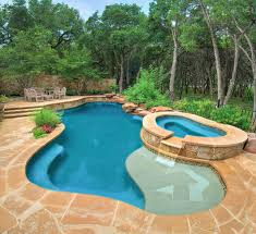 awesome pool and spa designs images decorating design ideas