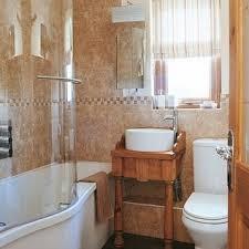 Small Bathroom Renovations Ideas Natural Brown Small Bathroom Renovation Home Interiors