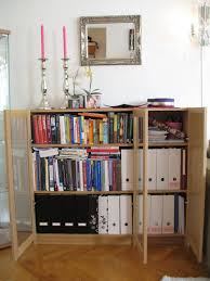 extraordinary black wood ikea bookshelf with glass door along with