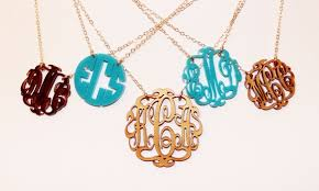 monogramed jewelry monogram jewelry for the and bridesmaids rustic wedding chic