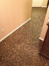 69 diy river rock pebble laid floor pebble