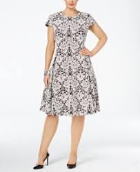 fit and flare dress shop fit and flare dress macy u0027s