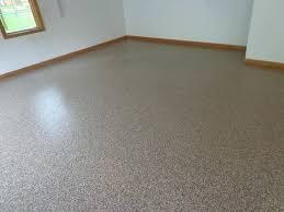 full broadcast epoxy flake flooring by green fox floors of houston