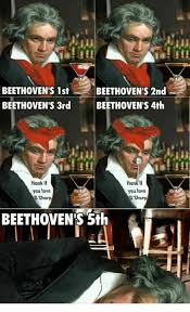 Beethoven Meme - beethoven s 1st beethoven s 3rd beethoven s 2nd beethoven s 4th honk