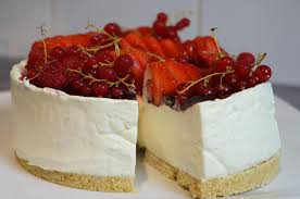 cheesecake sans cuisson vanille fruits rouges hervecuisine com
