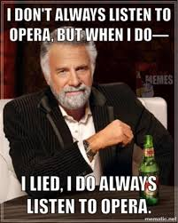 Opera Meme - opera memes on twitter the opera fan peruses their music