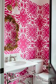Wallpaper For Bathrooms Ideas Colors 49 Best Powder Room Images On Pinterest Bathroom Ideas Room And