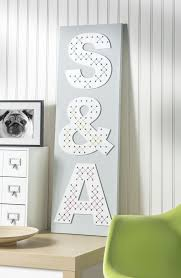 home decor letters cross stitch letters on canvas diycandy com