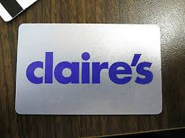 claires gift card s gift card other ebay