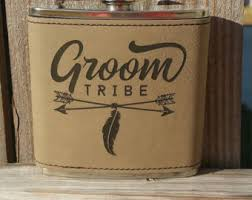 and groom flasks grooms flask etsy