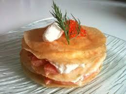 raifort cuisine croustillants aux deux saumons mousse au raifort la cuisine de