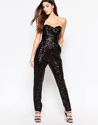 black sequin jumpsuit style laurent sequin jumpsuit iheart radio