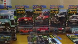 matchbox jeep 2016 crackin matchbox jeep series the full set youtube