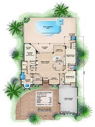 belle air house plan weber design group naples fl