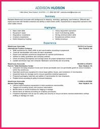 Inventory Specialist Resume Resume For Warehouse Warehouse Worker Resume Sample 20 596842