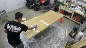 pro marine supplies table top epoxy first time using bar top epoxy youtube